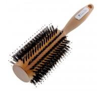 Расческа Scarlet line для укладки волос деревянная, со смешанной щетиной 35 мм.