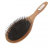 Расческа Scarlet line для волос деревянная, массажная