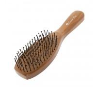 Расческа Scarlet line для волос деревянная