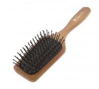 Расческа Scarlet line для волос массажная, деревянная
