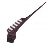 Кисть для окрашивания волос с гребнем, Scarlet line, 21,5 см.