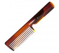 Гребень для расчесывания волос с ручкой, Scarlet line, 21 см.