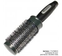 Расческа-брашинг Scarlet line для волос термическая, 44 мм.