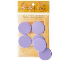 Спонж для нанесения макияжа (6 шт)  Scarlet line